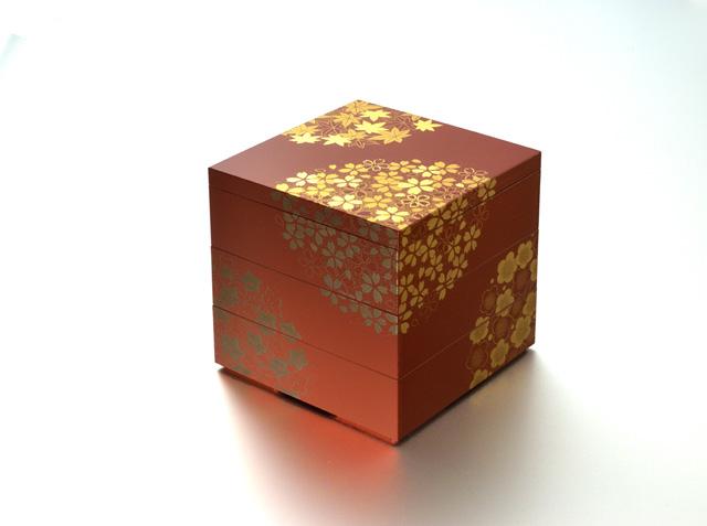 花丸春秋5.0三段重(古代朱)