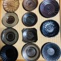 ≪與左衛門≫YOZAEMON ヴィンテージ茶托 (1) Vintage Wooden saucer(1)*ZOOMイベント限定商品*