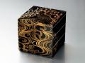 モダンな重箱:香琳6.0三段重(黒)
