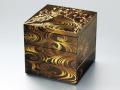 モダンな重箱:梨地香琳6.5三段重