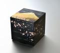 モダンな重箱:さくら富士5.0三段重(黒)(A)