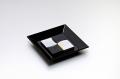 角市松箸置セット(黒)