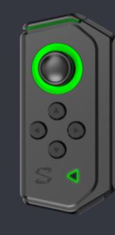Black Shark 2専用コントローラー(左)(H66L Controler)