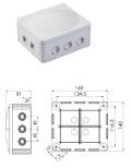 ウイスカ社コンビボックス COMBI 1210