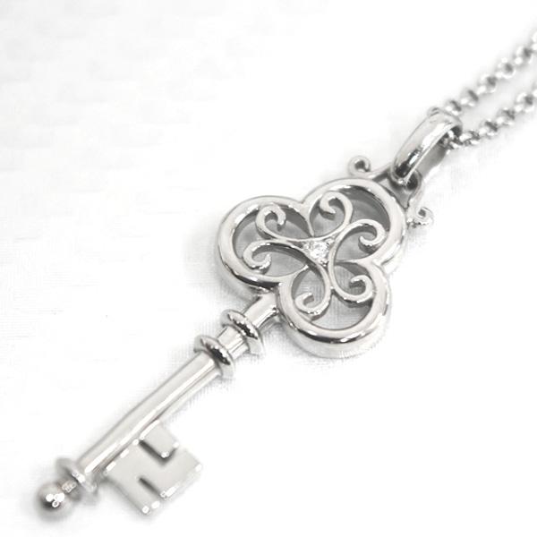 幸せの鍵ネックレス