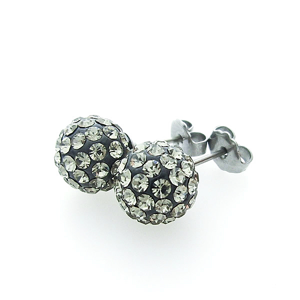 シャンデピアス(小) ブラックダイヤモンド