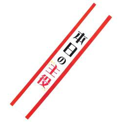 たすき(本日の主役)-景品パー...