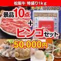【ビンゴゲーム付き】松阪牛特盛り1kg 10点セット