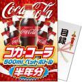 コカ・コーラ500mlPET半年分