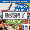 【参加賞向けQUOカード付】dyson&宮崎牛20点セット[送料無料]