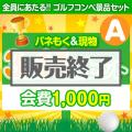 <ゴルフコンペ賞品14点セット>3組12名様:会費1,000円(全員に当たる!)Aコース