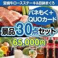 宮崎牛ロースステーキ30点セット(QUOカード500円20枚含む)[送料無料]