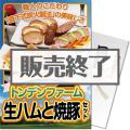 <期間限定キャンペーン中!>【パネもく!】トンデンファーム 生ハムと焼豚セット(A4パネル付)[当日出荷可]