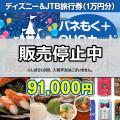 ディズニー&JTB旅行券30点セット(QUOカード500円20枚含む)[送料無料]