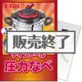 【パネもく!】ティファール圧力なべ(A4パネル付)[当日出荷可]