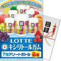 【パネもく!】ロッテ キシリトールガム 7種アソートボトル6個(A4パネル付)[当日出荷可]
