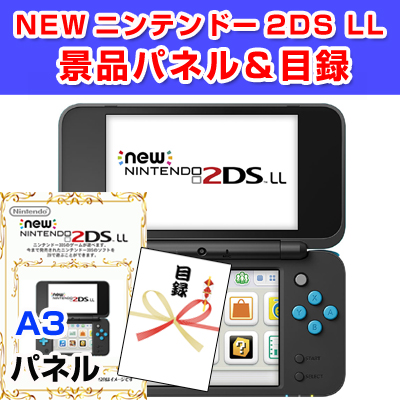 NEW ニンテンドー3DS 【A3景品パネル&引換券付き目録】(ds27)