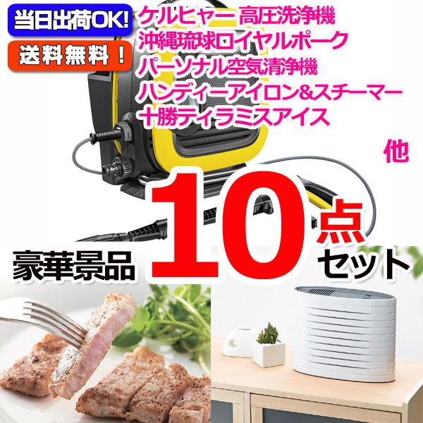 レイコップLITE&沖縄三元豚&フットマッサージャ他豪華10点セット (15063)