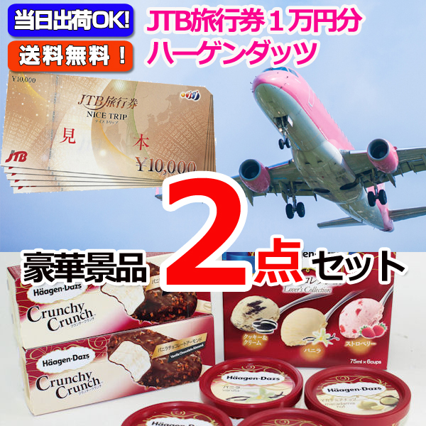 JTB旅行券1万円分&ハーゲンダッツスペシャルセット豪華2点セット
