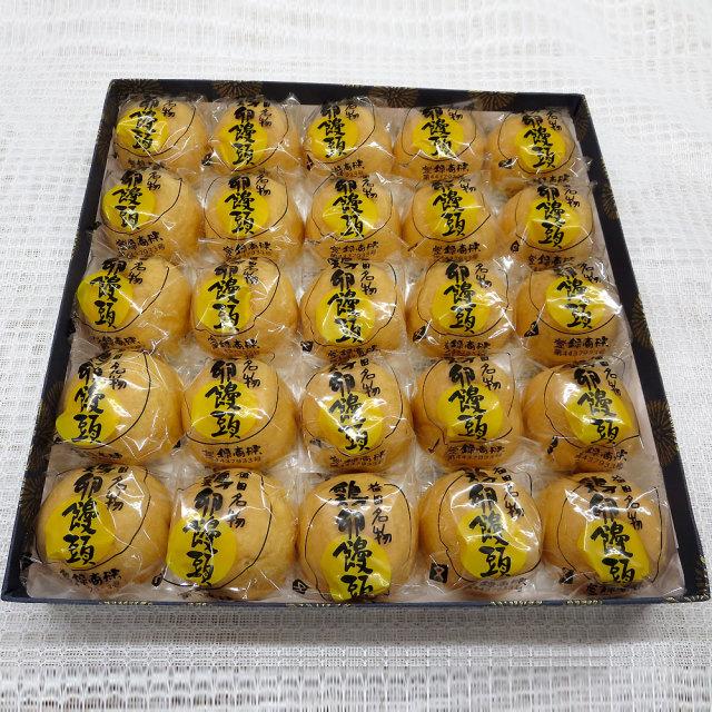 鶏卵饅頭25個箱