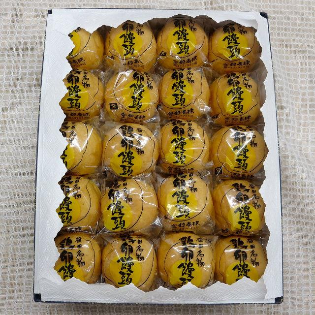 鶏卵饅頭40個箱
