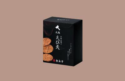 大阪お好み焼きえび天500円