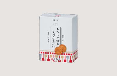 東京もんじゃ焼きえびせんべい600円