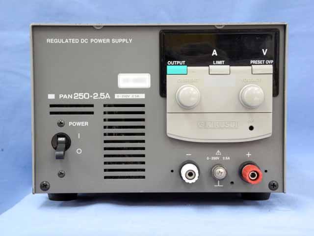 中古 菊水電子工業 直流安定化電源 PAN250-2.5A (管理番号:UKK-04063)