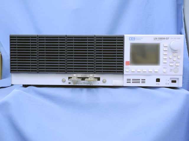 中古 計測技術研究所 直流電子負荷装置 LN-1000A-G7  (管理番号:UKK-10140)