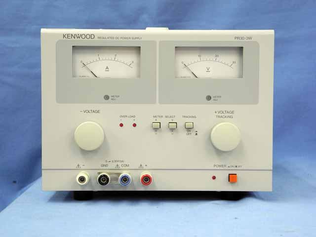 中古 テクシオ(ケンウッド) 直流安定化電源 PR30-3W (管理番号:UKK-10420)