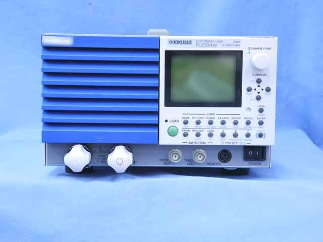 中古 菊水電子工業 直流電子負荷装置 PLZ334W  (管理番号:UKK-10444)