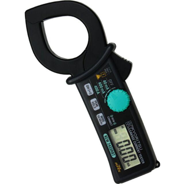 共立電気計器 漏れ電流・負荷電流測定用クランプメータ KEW 2433RBT