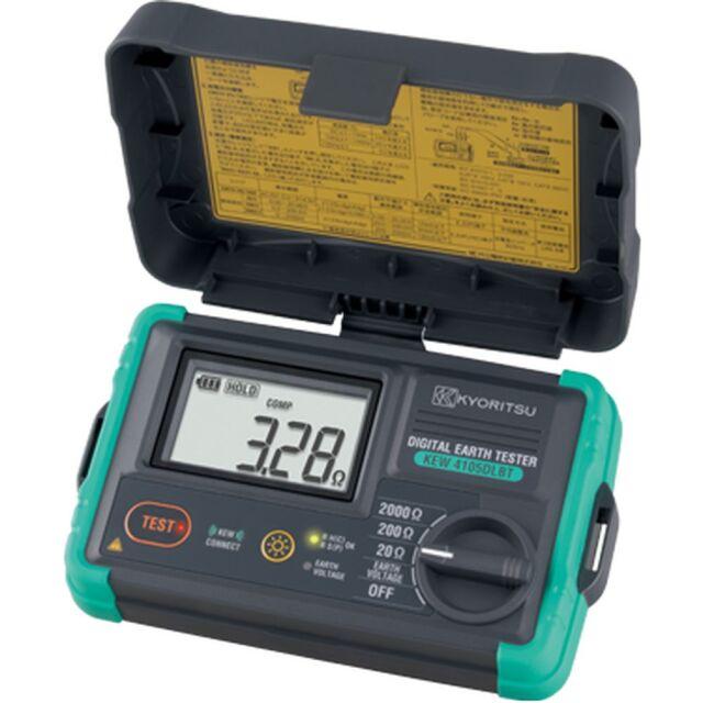 共立電気計器 接地抵抗計 ハードケース付き KEW 4105DLBT-H