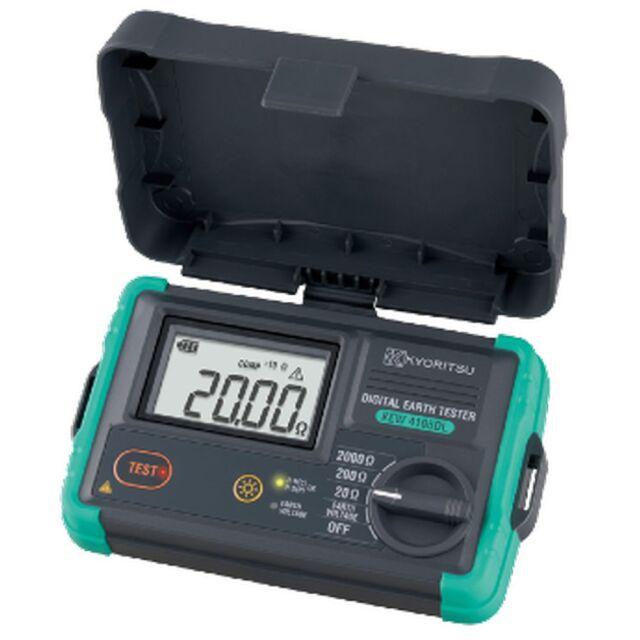 共立電気計器 接地抵抗計 ハードケース付き KEW 4105DL-H