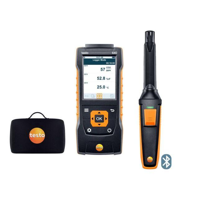 testo マルチ環境計測器+IAQプローブセット 440 IAQ