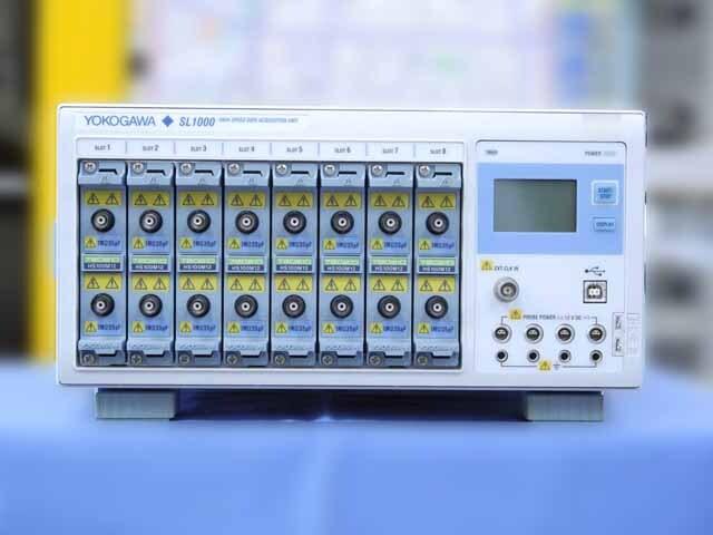中古 横河電機 データアクイジションユニット SL1000 (管理番号:4G-1023)