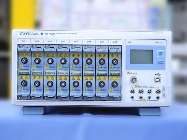 中古 横河電機 データアクイジションユニット SL1000 (管理番号:4G-1024)