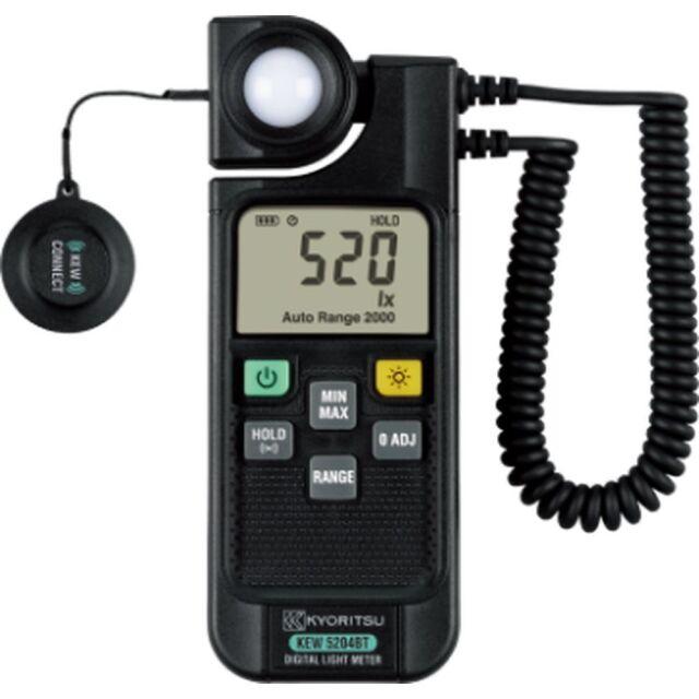 共立電気計器 照度計 KEW 5204BT
