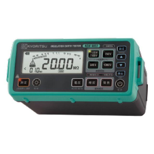 共立電気計器 デジタル絶縁・接地抵抗計 KEW 6022LA