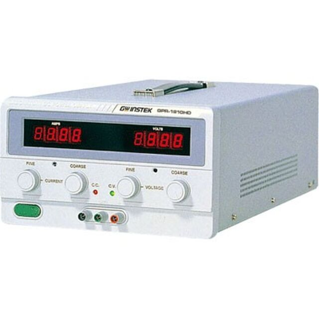 【お取り寄せアウトレット】【お問合せ商品】TEXIO GW INSTEK シリーズデジタル表示小型直流安定化電源 GPR-1820HD [OUTLET]