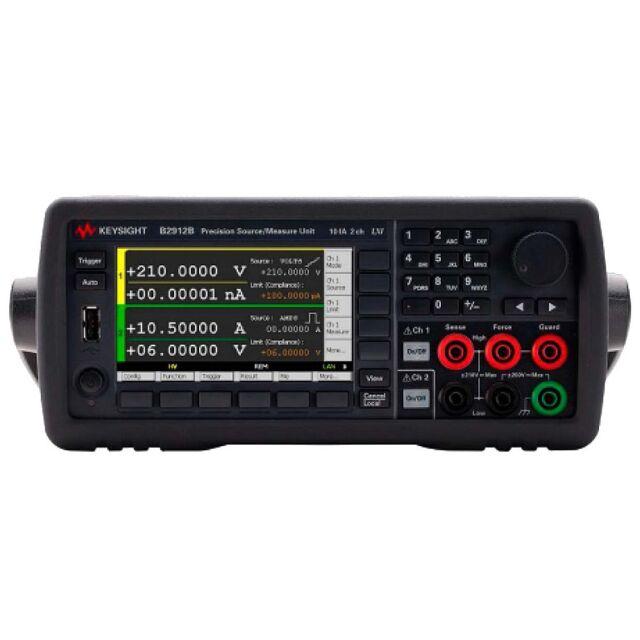 【お問合せ商品】 Keysight プレシジョンソース/メジャーユニット(SMU)B2912B 2チャネル 210V 3.03A(DC) 10.5A(パルス)