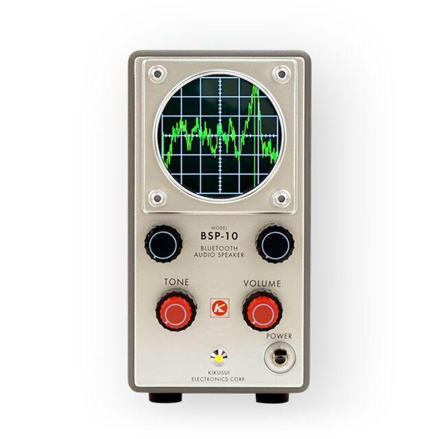 菊水電子工業 昭和レトロ計測器型 Bluetoothスピーカー オシロスコープタイプBSP-10