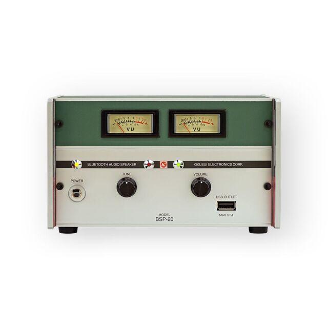 菊水電子工業 昭和レトロ計測器型 Bluetoothスピーカー 直流電源タイプBSP-20