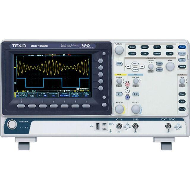 TEXIO デジタルオシロスコープ 2チャンネル 50MHz 1GS/s DCS-1052B
