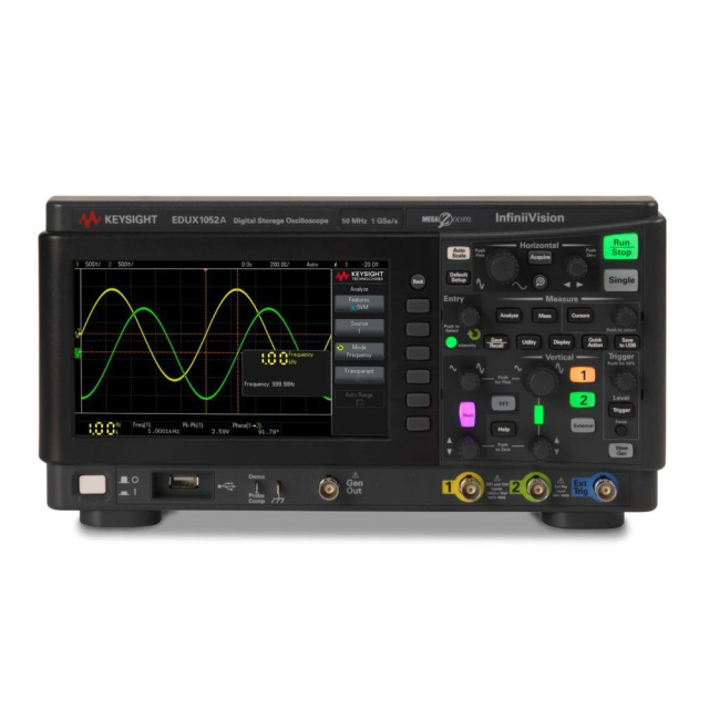 Keysight DSOX1202G オシロスコープ 波形発生器内蔵 2ch 70MHz 最大メモリ2Mポイント/ch