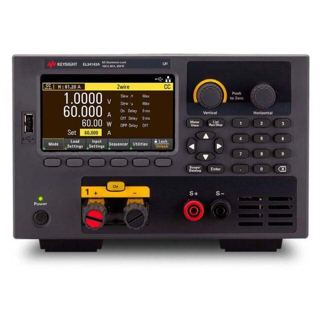 【お問合せ商品】 Keysight DC電子負荷 EL34143A 350W ベンチトップ 電子負荷、150V、60A