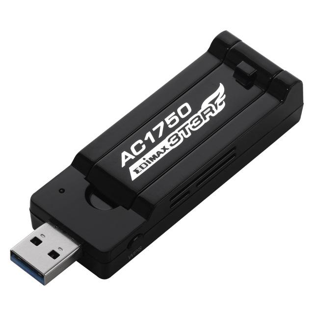 EDIMAX 802.11a/b/g/n/ac USB アダプタ AC1750-JP