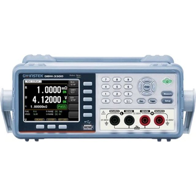 TEXIO GW INSTEK バッテリーメータ(最高測定電圧:300V) GBM-3300