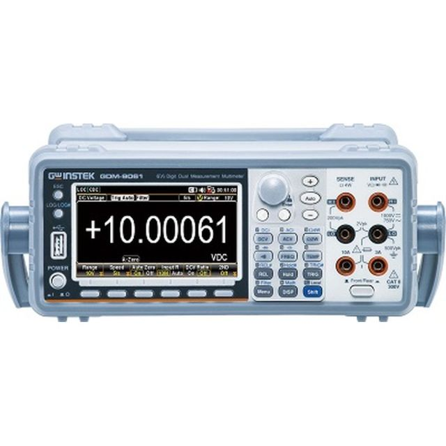 TEXIO GW INSTEK 6桁1/3デジタルマルチメータ(DC確度:0.0035%) GDM-9061