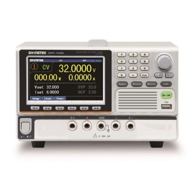 TEXIO GW INSTEK 高分解能多出力電源 電子負荷機能付き GPP-1326G